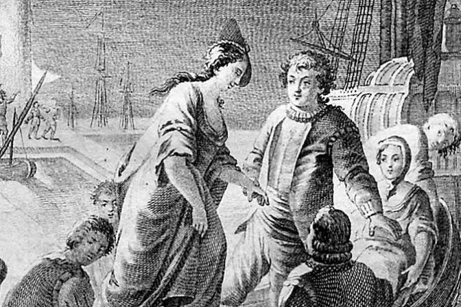 Los trabajos de Persiles y Sigismunda de Miguel de Cervantes (nota = 7,4)